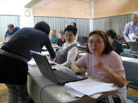 渋谷区身体障害者福祉協会「IT教室」サポート