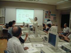 本町小学校親子パソコン教室の風景1