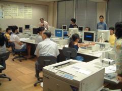 本町小学校親子パソコン教室の風景2