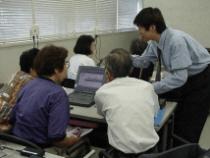 渋谷郵便局パソコン教室の風景2