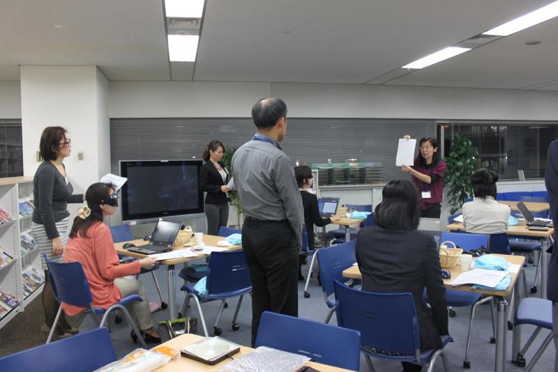 企業のボランティアセミナーでパソボラ体験会を行いました